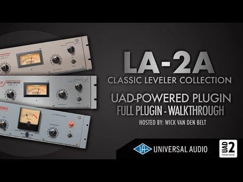 UAD - LA2A Leveler Plugin Collection explained (Full Walkthrough)