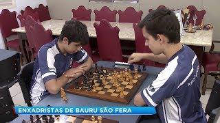 Promessas do xadrez de Bauru trazem conquista grandiosa para o município