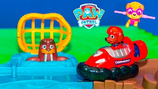 PAW PATROL Nickelodeon Skye and Zuma Roll Patrol Rescue New To...