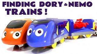 Finding Dory & Nemo Trains