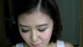推介好書影片的化妝步驟(2)