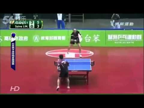 Vicces ping-pong mérkőzés