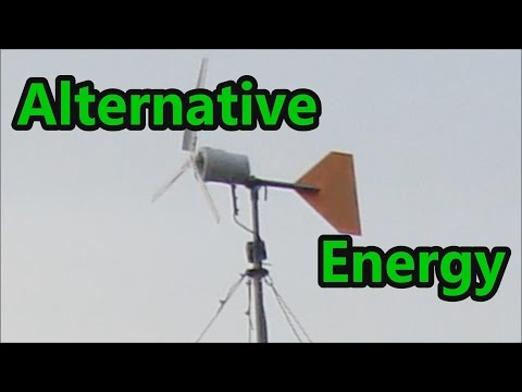 Homemade Alternative Energy Projects