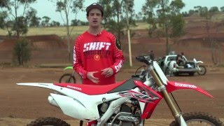 5. First Impression: 2016 Honda CRF250R - Transmoto Project Bike