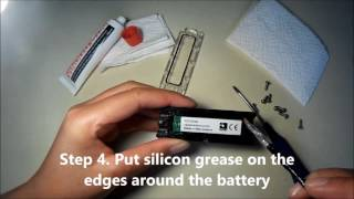How to change the battery of your Vaaka cadence sensor