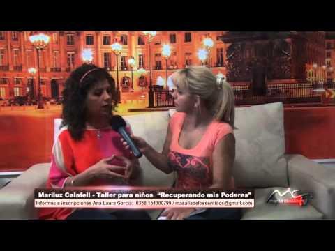 """Marisa Cassan TV & Mariluz Calafell-taller para niños """"Recuperando mis Poderes"""""""