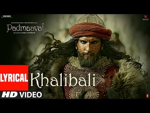 Padmaavat: Khalibali Lyrical Video Song | Deepika