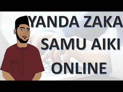 Hanyar Da zaka samu aiki online kuma kana samun kudi da yawa.
