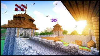 How To Build a Basic Medieval Castle! - Minecraft Tutorial