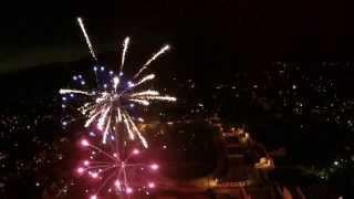 DJI Phantom 2 4th Of July Fireworks.