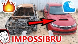Video Flooded SUBARU STI IMPOSSIBLE Rebuild attempt PART 1 CRRISPY FIRE DAMAGE SAVES THE DAY MP3, 3GP, MP4, WEBM, AVI, FLV Juni 2019