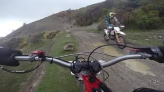 6. Beta Evo 300 at Wern Ddu quarry Wales