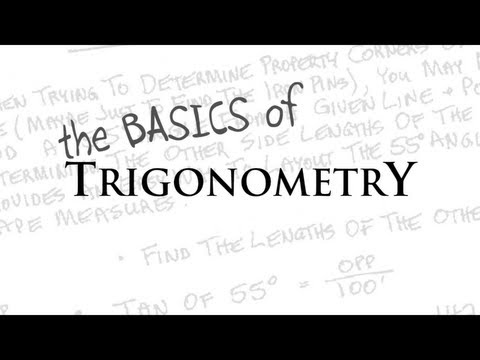 trigonometry - Want to learn the basics of trigonometry? Want to learn how to use the functions sine, cosine and tangent? Or do you just want to review the basics to study ...