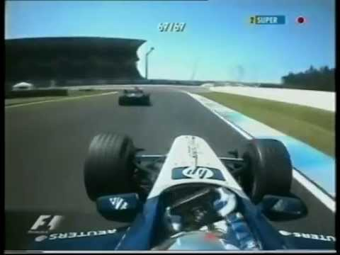 sfida incredibile in formula 1 germania 2002 - raikkonen vs montoya!