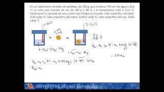Umh1148 2013-14 Lec004c Problema De Calorimetría