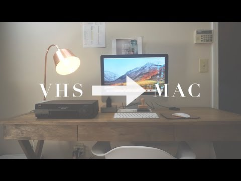 CONVERTING VHS TO A DIGITAL FILE // MAC & PC // CHEAP & EASY!!