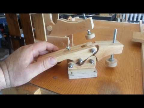 Project Working Idea: Woodworking bench hold down clamps