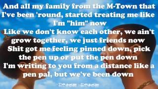 Drake - Too much ft. Sampha | Nothing was the Same (lyrics)