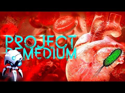 Наноробот внутри человеческого организма! (Project Remedium) (видео)
