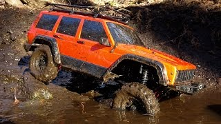 Watch this SCX10 ii testing in a flowing stream! This waterproof Axial SCX10 2 performed great!Mud, water, rocks, and trailing are a blast with the Axial SCX10 ii. I have been mudding, submerging, and abusing this truck for a few months now without a single part failure. Good job axial!If you want to do something like this with your scx10 ii, just make sure that it is waterproofed and all of your electronics are waterproof! #scx10ii #axial #scx102 #rctrucks #rc #fun #hobby
