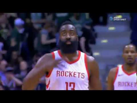 James Harden hits bomb at the buzzer to end first half in Milwaukee