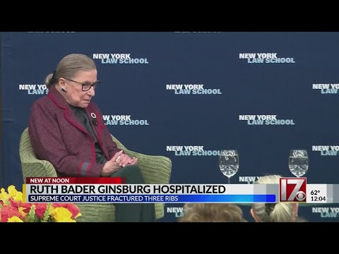 Ruth Bader Ginsburg recovering after breaking ribs