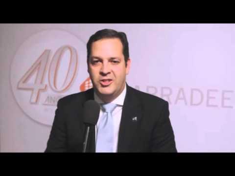 Abradee 40 Anos - Gustavo Utescher  Gerente de Capacitação e Premiação FNQ