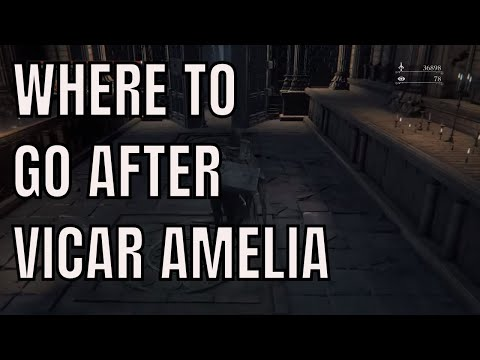 Bloodborne Where To Go After Beating Vicar Amelia