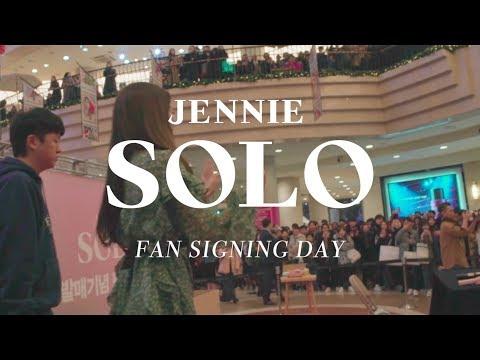 JENNIE - 'SOLO' FAN SIGNING DAY - Thời lượng: 2 phút, 4 giây.