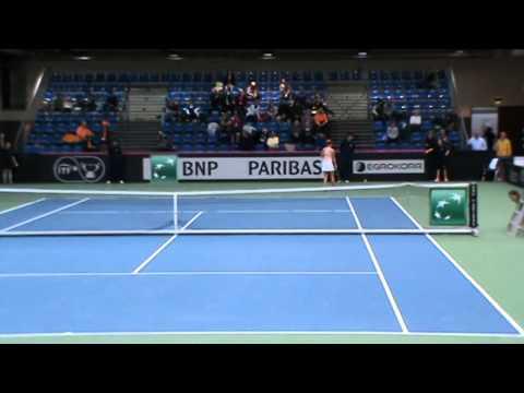 Tennisster Hogenkamp flink gestegen op wereldranglijst