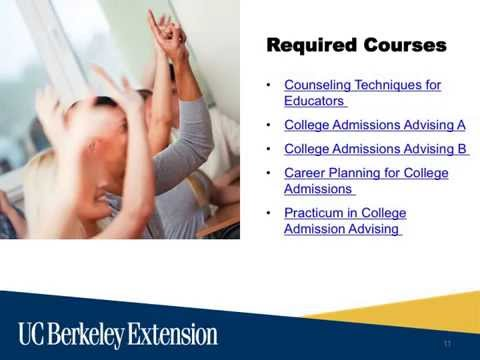 College Admissions and Career Planning and College Admission Counseling