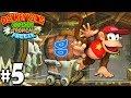 Donkey Kong Country Tropical Freeze Co-Op Hoot Toots PART 5 (Wii U HD Gameplay Walkthrough Coop)