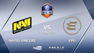 Natus Vincere vs EPG, ECS Season 5 Europe Challenger Cup