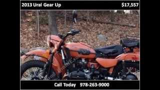 7. 2013 Ural Gear Up New Motorcycles Boxborough MA