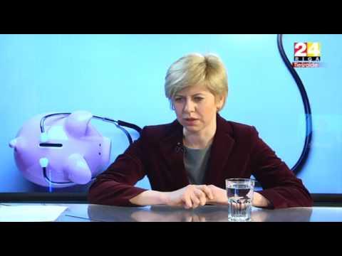 """Veselības ministres Andas Čakšas intervija Rīga TV24 """"Dienas personība"""""""