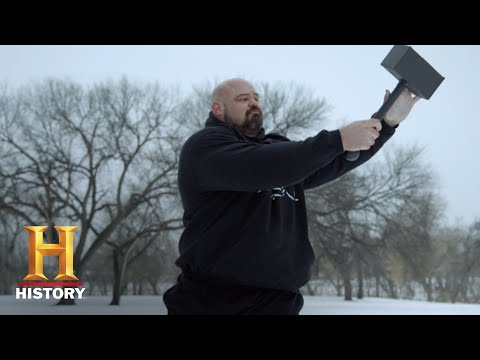 The Strongest Man in History: Thor's Hammer Throw | Exclusive | History