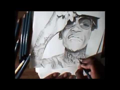 wiz khalifa speed drawing mac miller best day ever drawing