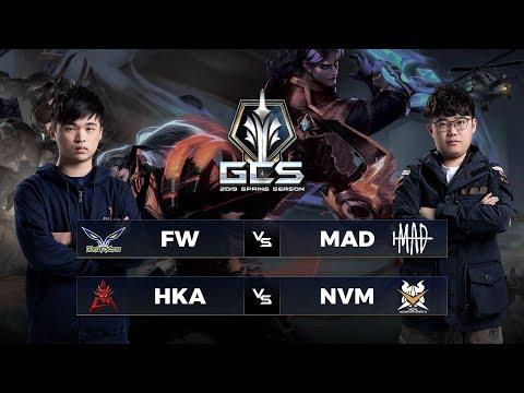 FW vs MAD | HKA vs NVM - Tuần 12 Ngày 2 - GCS Mùa Xuân 2019 - Thời lượng: 4:34:17.