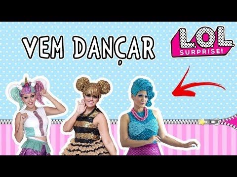 Frases lindas - Lol Surprise - Vem Dançar PARÓDIA Califórnia Gurls, Katy Perry Cia Era Uma Vez
