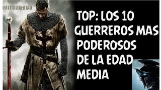 "En este video veremos a los 10 guerreros, generales, emperadores y reyes mas influyentes y poderosos de la Edad Media. Dejame tu TOP en la lista de comentarios.Dale  like, suscribete a mi canal y así me apoyas a crear mas contenido como este.  Disculpen por no subir mas videos, pero no tengo internet en mi casa. Ademas de que no pude grabar porque la casa donde grabo no estuvo disponible por varias semanas. Ahora tengo internet y me voy a poner  al día. Gracias. ============================================================================================================Fan page: https://www.facebook.com/Hey-Barto-1659753347575796/?fref=ts============================================================================================================""Magic Forest"" Kevin MacLeod (incompetech.com)Licensed under Creative Commons: By Attribution 3.0 Licensehttp://creativecommons.org/licenses/by/3.0/""Industrial Cinematic"" Kevin MacLeod (incompetech.com)Licensed under Creative Commons: By Attribution 3.0 Licensehttp://creativecommons.org/licenses/by/3.0/""Chill Wave"" Kevin MacLeod (incompetech.com)Licensed under Creative Commons: By Attribution 3.0 Licensehttp://creativecommons.org/licenses/by/3.0/""Curse of the Scarab"" Kevin MacLeod (incompetech.com)Licensed under Creative Commons: By Attribution 3.0 Licensehttp://creativecommons.org/licenses/by/3.0/""Crowd Hammer"" Kevin MacLeod (incompetech.com)Licensed under Creative Commons: By Attribution 3.0 Licensehttp://creativecommons.org/licenses/by/3.0/""Crusade"" Kevin MacLeod (incompetech.com)Licensed under Creative Commons: By Attribution 3.0 Licensehttp://creativecommons.org/licenses/by/3.0/"