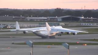 RARE! Antonov 225 Mriya Takeoff at Minneapolis