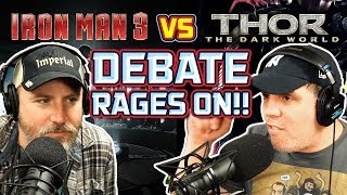 IRON MAN 3 vs Thor 2 debate rages on!! +?! - SEN #93 by Schmoes Know