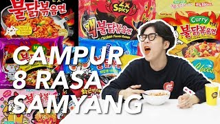 Video Makan Sekaligus Samyang 8 Rasa!!!! MP3, 3GP, MP4, WEBM, AVI, FLV September 2018