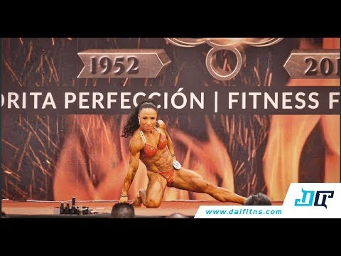 Womens Physique - Mr Mexico 2017