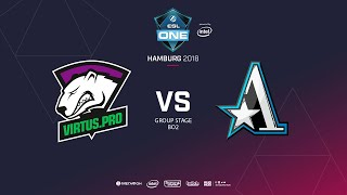 Virtus.pro vs  Team Aster, ESL  One Hamburg, bo2, game 1 [Adekvat & Frostnova]