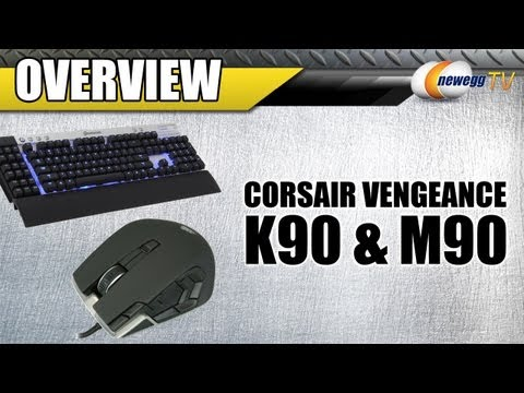 M90 - http://www.newegg.com | KB: http://bit.ly/13aRlhp | Mouse: http://bit.ly/URfXbe 23-816-002 & 26-816-007 Here we have these Vengeance K90 Gaming Keyboard & M9...