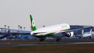 Video [4K] HC-X1000☆長榮航空(Eva Airways)Boeing 777☆ Landing!!Narita RWY16R成田空港!さくらの山 MP3, 3GP, MP4, WEBM, AVI, FLV November 2018