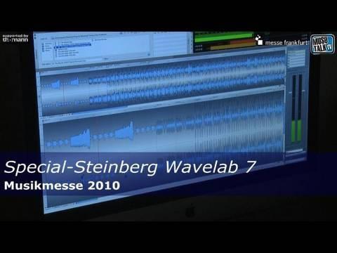Musikmesse 2010: Steinberg WaveLab 7