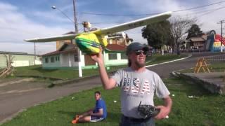Aeromodelismo � atra��o do Lendo e Relendo no Parque