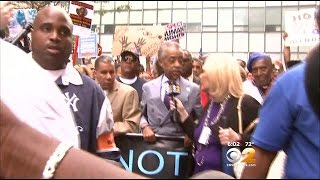 Rev. Al Sharpton Leads March, Rally Over Eric Garner's Death On Staten Island - YouTube